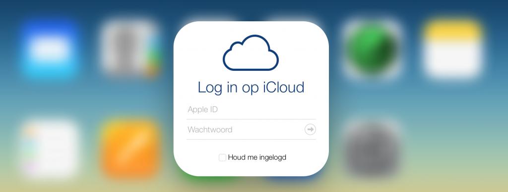 iCloud mail aanmaken